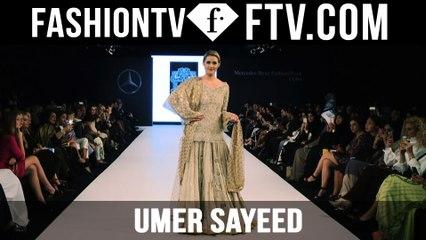Mercedes Benz Fashion Week Doha 2015 - Umer Sayeed | FTV.com