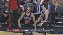 NBA : Joakim Noah insulte les arbitres après avoir été expulsé et balance des « Fuck you » à plusieurs reprises