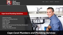 Professional Plumbers and Plumbing Services in Cape Coral, Florida