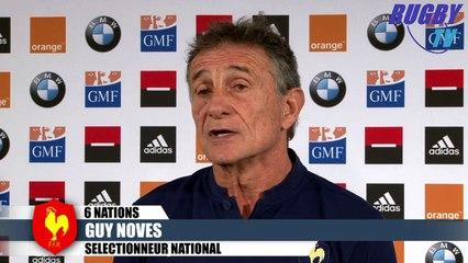 XV DE FRANCE - 6 NATIONS 2016 - GUY NOVES-GUILHEM GUIRADO