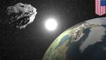 NASA says asteroid could pass as close to 11,000 miles from the Earth next month
