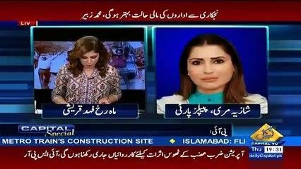Hakumat PIA ka boht afsoosnaak solution nikaal rhi hai....Shazia Mure Bashing Remarks On Nawaz Government