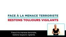 Réagir en cas d'attaque terroriste - #5 restez vigilants - Version accessible