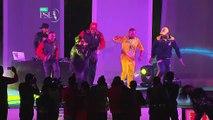 Chris Gayl   Sammy   Bravo Dance in PSL opening Ceremony   PSLT20 Opening ceremony
