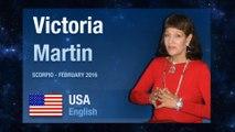 SCORPIO February 2016 Astrological Forecast