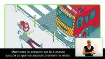 Réagir en cas d'attaque terroriste - #4 gestes d'urgence - Version accessible