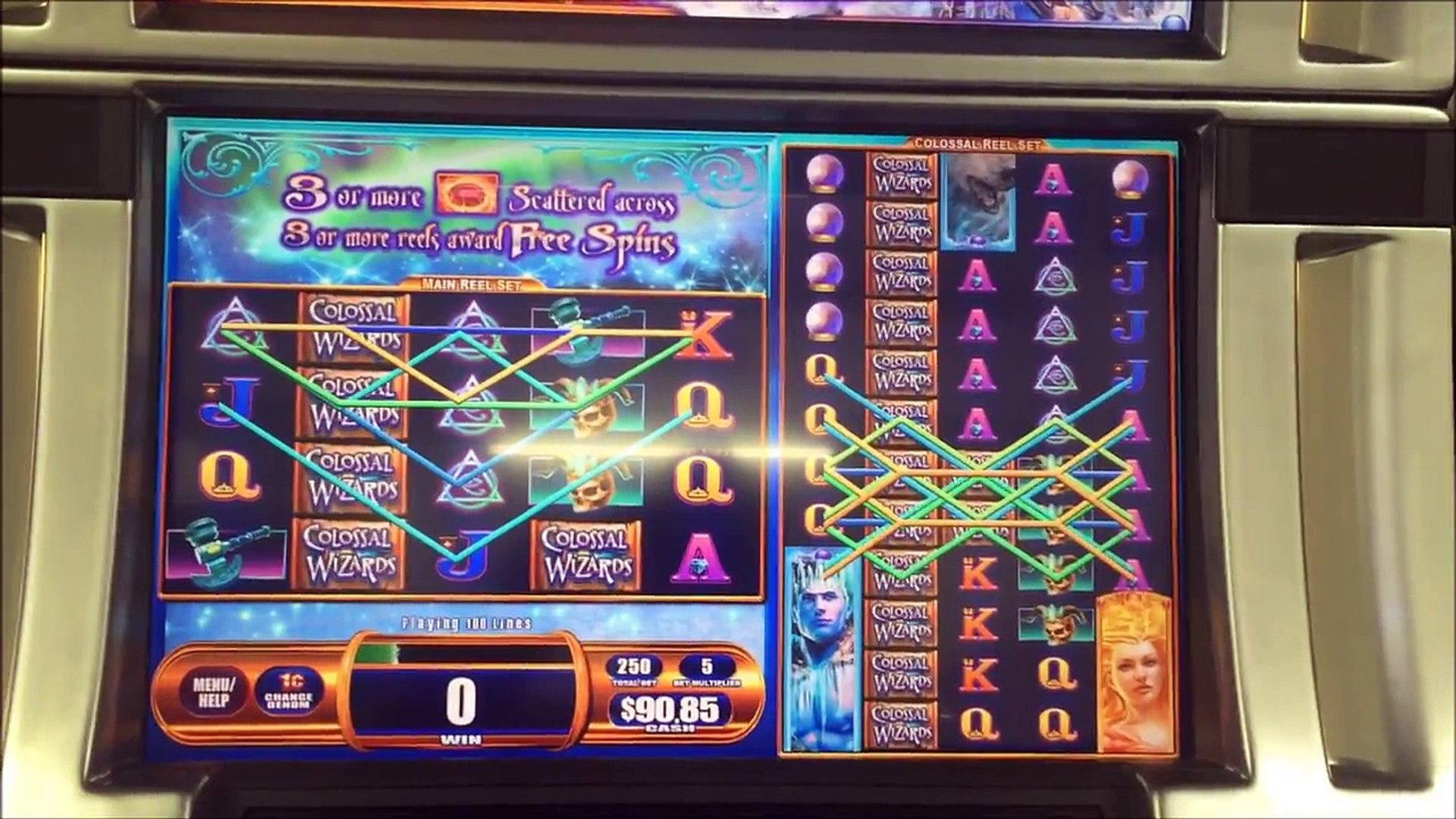 WMS xD™ Colossal Wizards™ Mega Bonus Win Slots