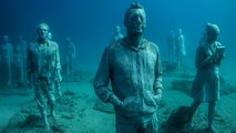 Underwater Museum: Unique Submerged Art Installation Aims To Benefit Marine Life