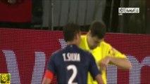 PSG - Valenciennes : bousculade imaginaire, l'arbitre expulse Thiago Silva et retarde le sacre du PSG