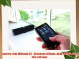 Creative Labs ZIISound D5 - Altavoces (iPhone A2DP AVRCP 110 x 425 x 90 mm)