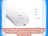 Tonor rat?n recargable silencioso modo Bluetooth super delgado Rat?n inal?mbrico Revoluci?n