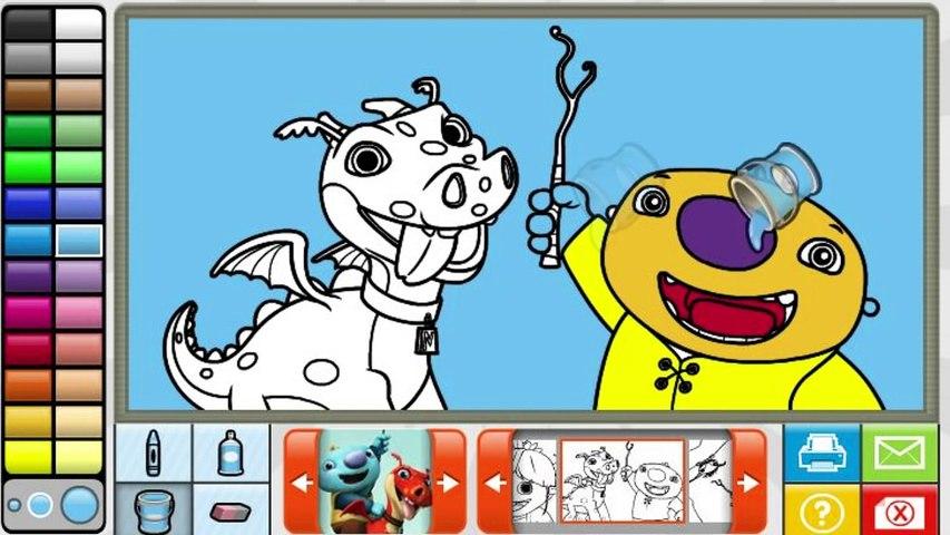 Wallykazam Game - Coloring Game   Godialy.com