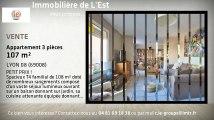 A vendre - Appartement - LYON 08 (69008) - 3 pièces - 107m²