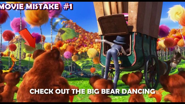 Ultimate THE LORAX Movie Mistakes, Goofs, Facts, Scenes, Bloopers, Spoilers and Fails