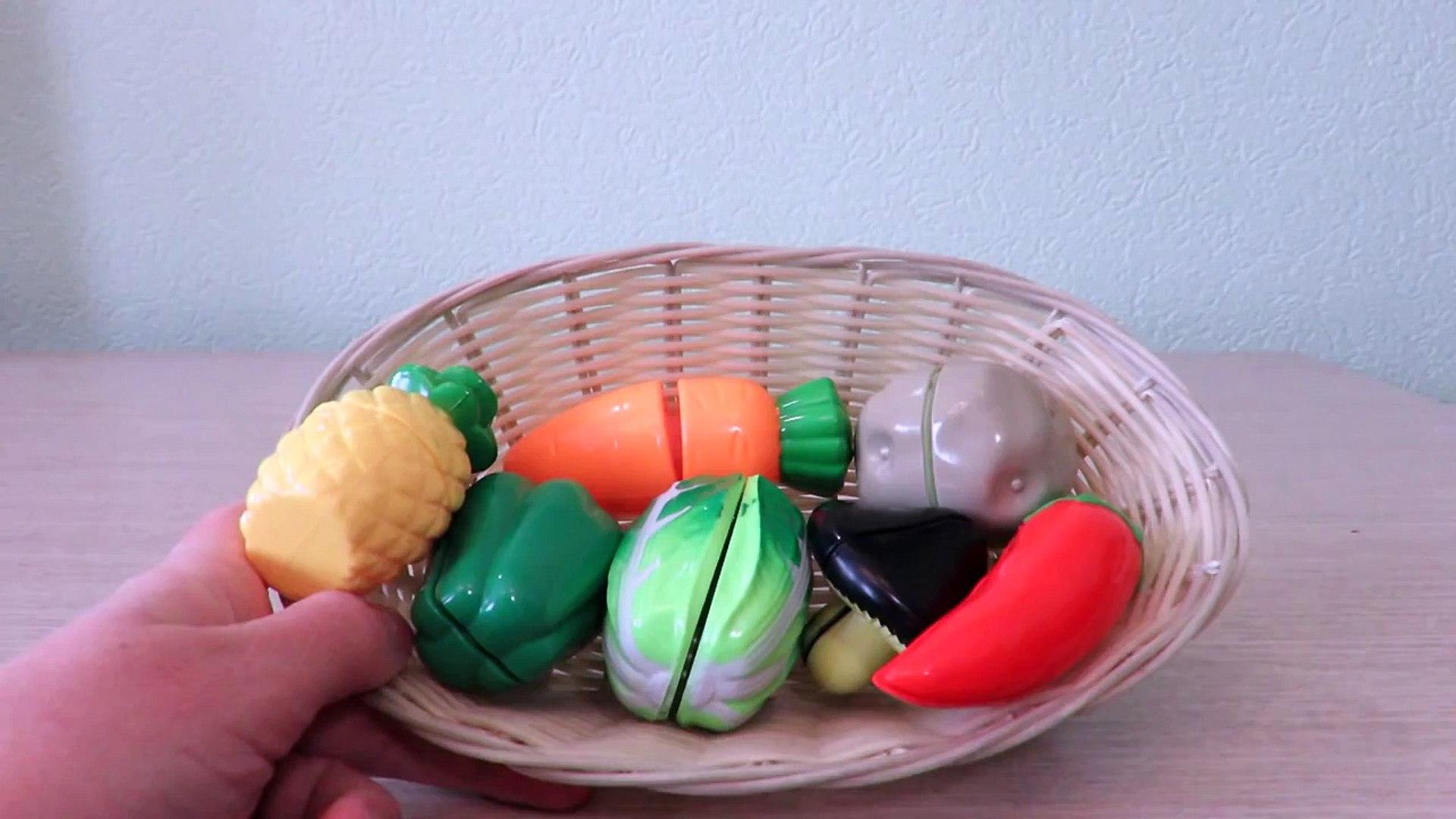 Videos for kids Vegetables cute toys for kids учимся готовить childrens toy игрушечные овощи