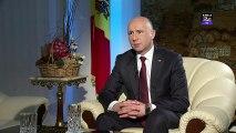 Premierul R. Moldova - A fost foarte important ca prima vizită să fie aici pentru că România a fost mereu alături de R. Moldova. Abia instalat în funcţie, premierul R. Moldova a venit în România ca să ceară ajutor.