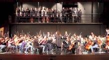 Making of de la répétition générale de l'Orchestre des lycées français du monde à Madrid