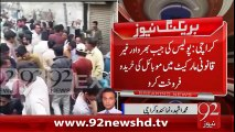 BreakingNews-Karachi Main Gair Qanoni Market-05-02-16-92News HD