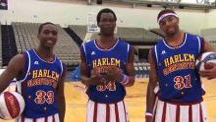 Learn How To Dunk Like The Harlem Globetrotters