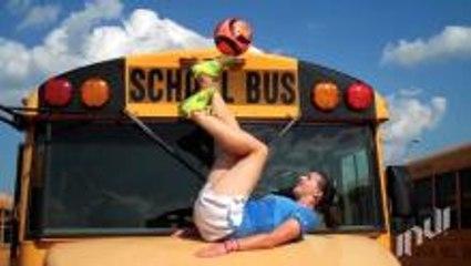 School Bus Soccer Freestyle