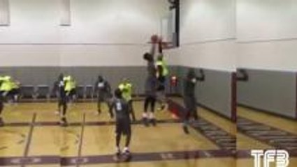 Nasty Jap Step Turns Into Sick Poster Dunk