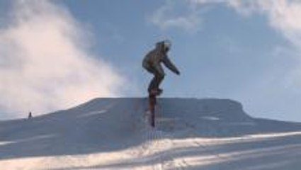How To 50-50 on a Snowboard - Goofy Riders