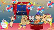 Happy Birthday Song | Nursery Rhymes For Children