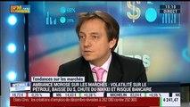 """Les tendances sur les marchés: """"Les marchés sont devenus très volatiles"""", Aymeric Diday - 05/02"""