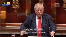 """Myard fustige les """"gauchistes décadents"""" sur la déchéance de nationalité"""