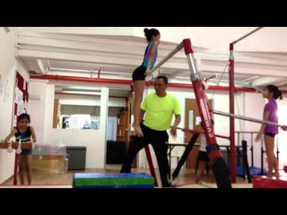 Singapore Day 2 Gymnastic Competition Preparation