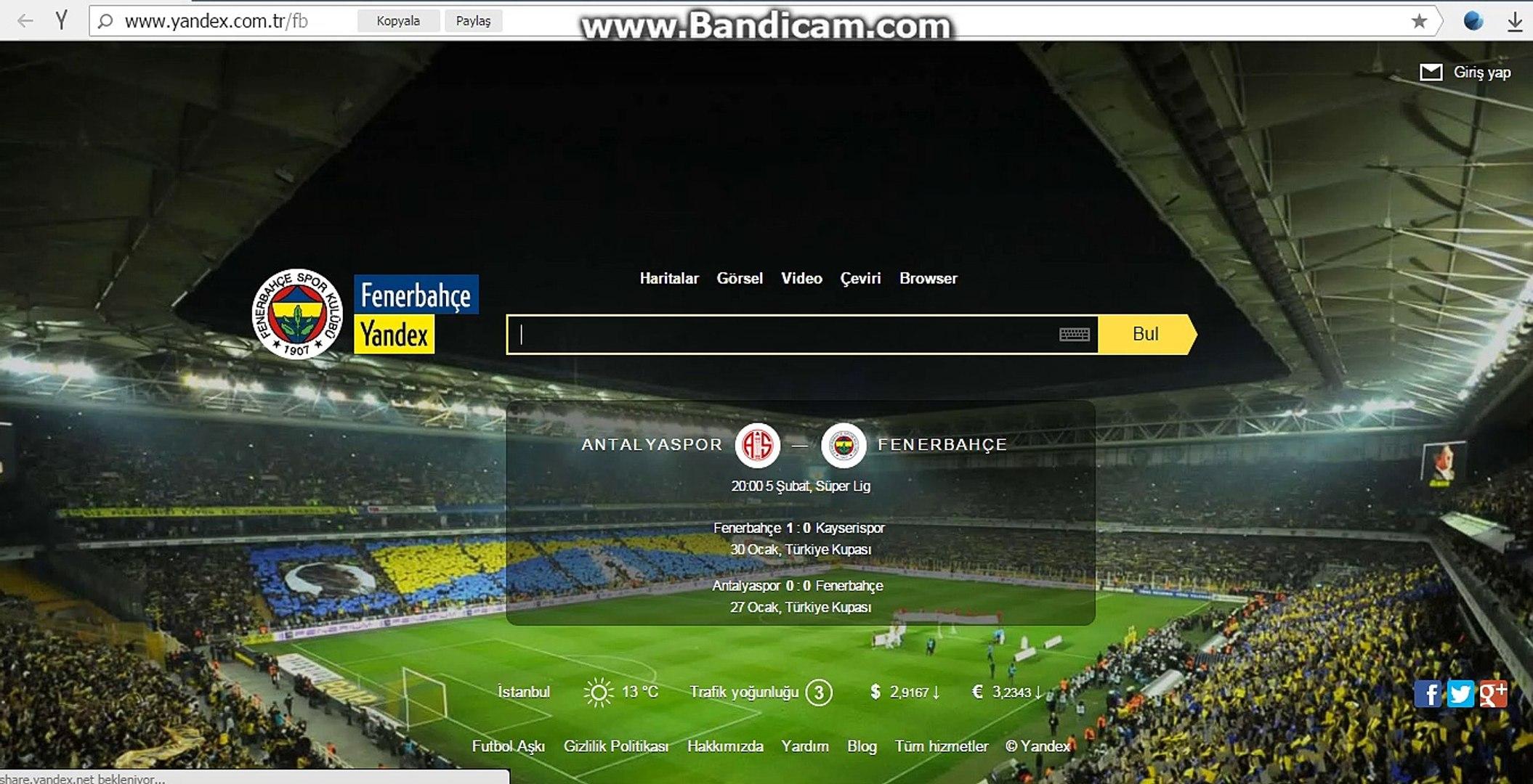 Fenerbahçe yandex arama hilesi