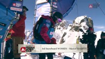 Run of Marion Haerty - Chamonix-Mont-Blanc - Swatch Freeride World Tour 2016