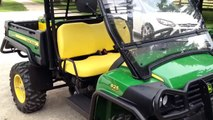 Having fun with new John Deere Gator 2012