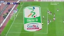 Giuseppe De Luca Penalty Goal AS Bari 2-1 FC Crotone Italy Serie B - 05.02.2016,