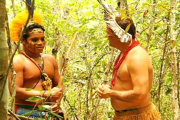 Viação Cipó mergulha na cultura Pataxó em aldeia no Sul da Bahia