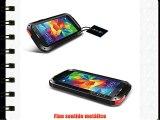Alienwork Funda para Samsung Galaxy S5 Prueba de golpes protectora bumper case Resistente las