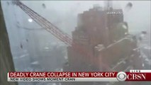 Man records terrifying moment crane collapses in NYC 05.02.2016