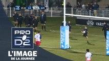 PRO D2 - L'essai de Julien Berger (Provence Rugby) face à Aurillac - Saison 2015-2016