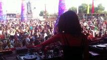 Lea Dobricic - Elrow stage @ Monegros Desert Festival 2013 - Last track - Minimal Techno