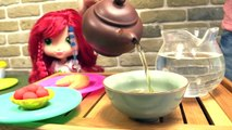 Çocuk filmi Play Doh hamurundan tatlı yapıyoruz