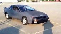 Fail Drift Crash On Toyota Celica EXTREME STUPID