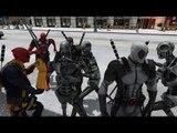 Deadpool vs Terminator Army - EPIC BATTLE - Grand Theft Auto
