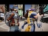 Captain America vs Wolverine - Epic Battle - Grand Theft Auto