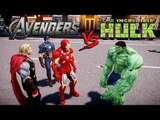 The Avengers vs Hulk - THOR, IRON MAN, CAPTAIN AMERICA VS HULK - Grand Theft Auto