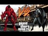ARKHAM ORIGINS BATMAN VS RED HULK - EPIC SUPERHEROES BATTLE - GTA IV