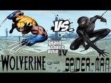 BLACK SPIDER-MAN VS WOLVERINE - EPIC SUPERHEROES BATTLE - GTA IV