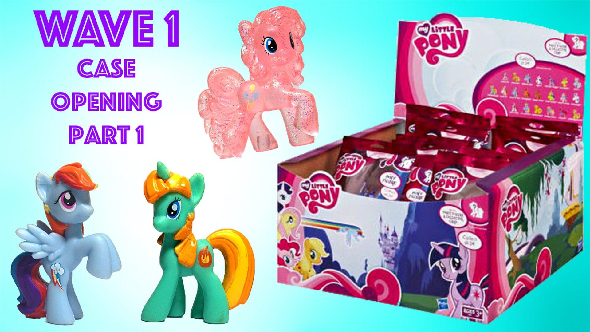 My Little Pony Blind Bags Wave 1 Part 1 Special Edition Pinkie Pie Rainbow Dash Twilight Sparkle Video Dailymotion