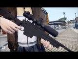 GTA IV: ASSAULT RIFLE + SNIPER RIFLE (GTA V)