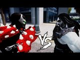 SPAWN VS LOBO - BLOODY FIGHT - GRAND THEFT AUTO
