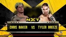 WWE 2K16 Featuring Chris Baker Episode 5 Chris Baker vs Tyler Breeze (FULL HD)